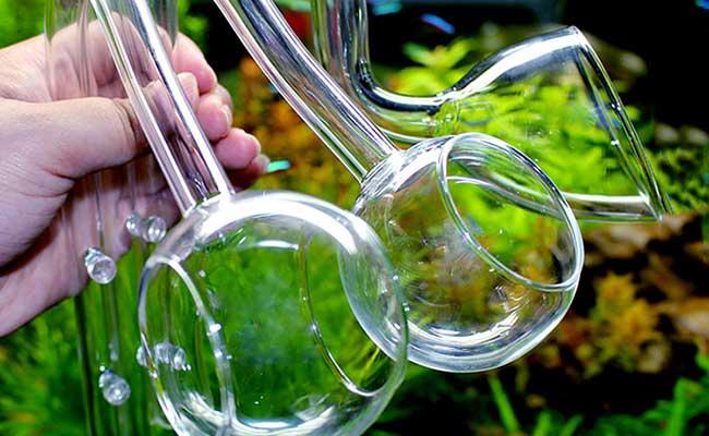 Разные виды стеклянных трубок выхода воды - Лили-Пайп (Lily Pipe)