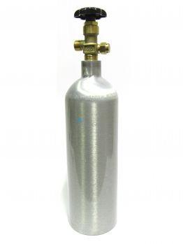 Баллон углекислотный алюминиевый 2л, Alsafe